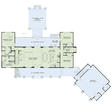 country farmhouse floor plans country craftsman farmhouse house plan 82085