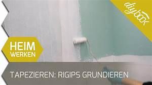 Rigips Grundieren Vor Tapezieren : vor dem tapezieren rigips grundieren youtube ~ Watch28wear.com Haus und Dekorationen