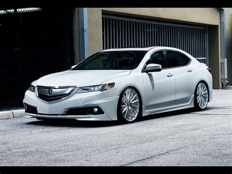 acura tlx vossen  vfs  concave wheels youtube