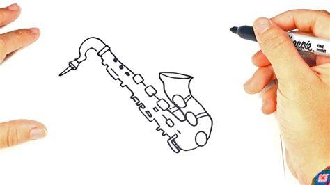 Saxophone Easy Draw Tutorial
