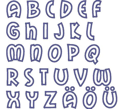 cosmic cute font machine embroidery applique designs monogram alphabet instant