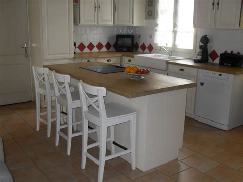 ciel de bar cuisine chaises hautes cuisine ikea cuisine en image