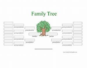 5 generation family tree in color template With printable family tree template 5 generations