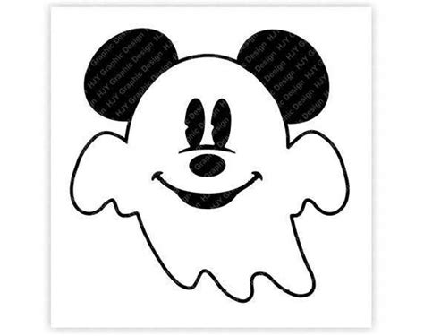 Disney Ghost Icon Mickey Mouse Icon Minnie Mouse