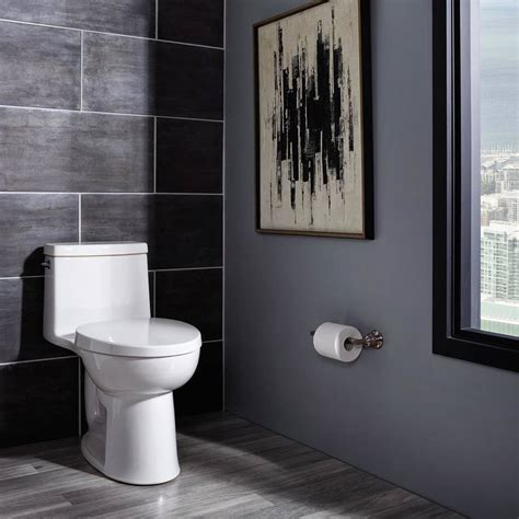 loft  height elongated  piece toilet american