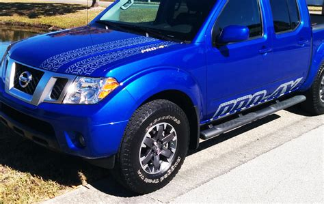 nissan frontier decal product kit for nissan frontier 2016 pro 4x include hood