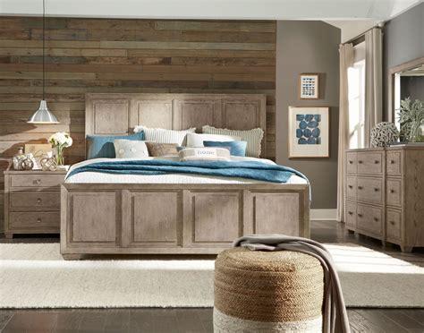 bridgewater weathered oak panel bedroom set  legacy