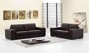 canape cuir contemporain maison design wibliacom With tapis de couloir avec canapé convertible fabrication italienne