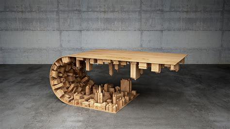 """Galeria de Stelios Mousarris cria uma mesa inspirada no filme """"A Origem""""   1"""
