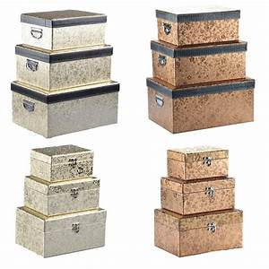 Aufbewahrungsbox Mit Deckel Stoff : aufbewahrungsbox mit deckel gold silber deko box kiste truhe kleidung schmuck ebay ~ Watch28wear.com Haus und Dekorationen