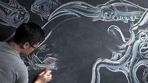 Artists that rock pardon my dust the beautiful chalk art for Pardon my dust the chalk art of peter han