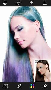 Hair Color Changer Styles Salon Recolor Booth App