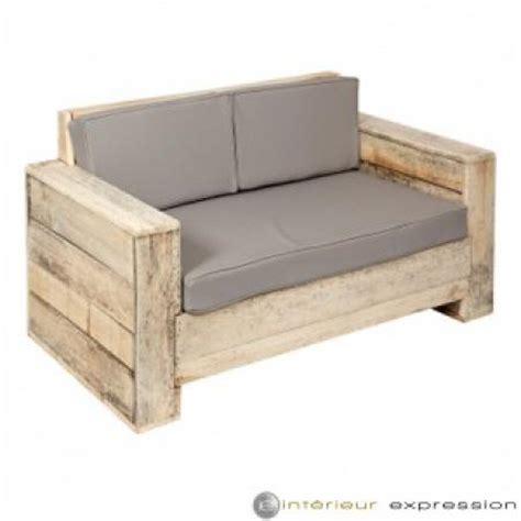 canapé en palette de bois photos canapé en bois de palette