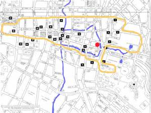 Downtown San Antonio Riverwalk Hotels Map