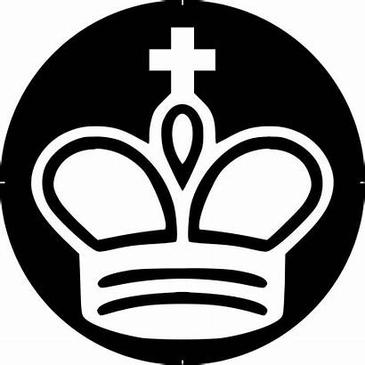 Chess Symbol King Piece Rey Blanco Clipart