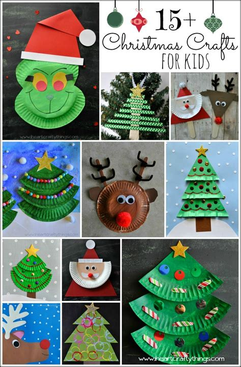 15 christmas crafts for kids i heart crafty things