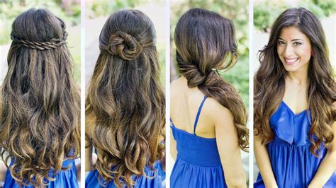 quick  easy hairstyles  girls