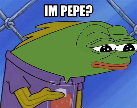 Pepe Know Your Memes - im pepe spongebob squarepants know your meme