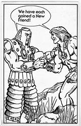 Coloring Pages Masters Universe Enlarge Character 1983 Battlegrip Template sketch template