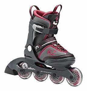Inline Skates Kinder Test : k2 marlee pro jr kinder inline skates gr l 35 40 grau test ~ Jslefanu.com Haus und Dekorationen