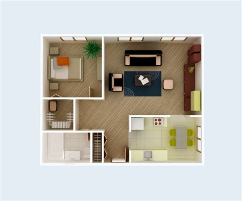 unique one bedroom house interior design best gallery