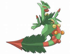 ORAS OU - a thorn in your side (mega sceptile) peaked ...