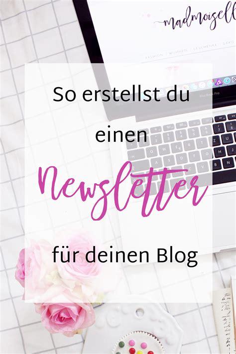 Newsletter Marketing Darum Braucht Dein Blog Einen