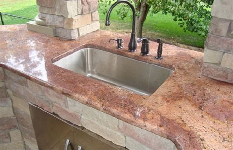 sinks for outdoor kitchens how to clear outdoor kitchen sink 5291