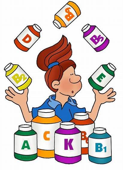 Vitamins Vitamin Clipart Supplement Multivitamin Transparent Clip