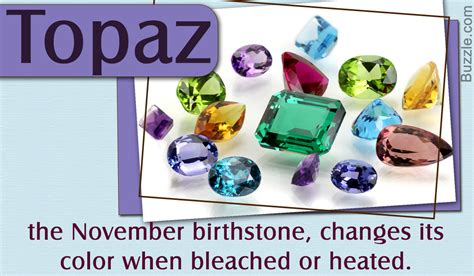 birthstone color for november engrossing facts about topaz the november birthstone