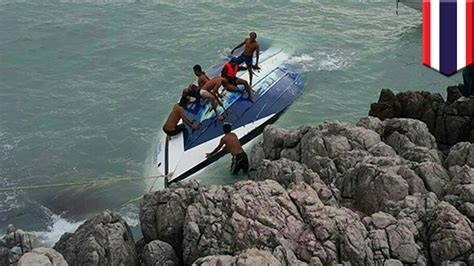 Speed Boat Crash Youtube by Speedboat Crash Two Tourists Killed When Huge Wave