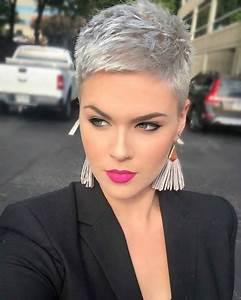 Coupe Courte Tendance 2019 : coiffure coupes courtes 2019 ~ Dallasstarsshop.com Idées de Décoration