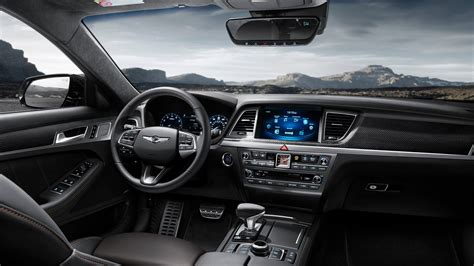 2018 Genesis G80 Sport Interior Wallpaper