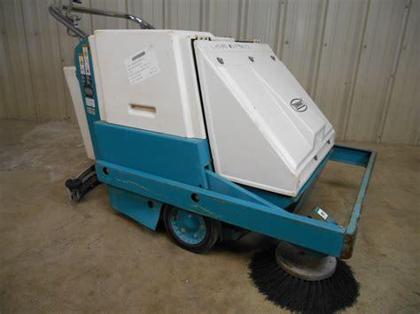 Used Tennant Floor Machines by Used Tennant Model 186 Walk Floor Sweeper