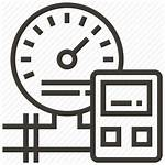 Industrial Icon Equipment Device Weight Process Icons