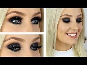 Glitter Glam Smokey Eye Tutorial! - YouTube