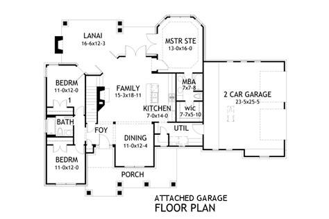 craftsman house plan bedrooms baths plan