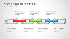 Chain Process Diagram For Powerpoint