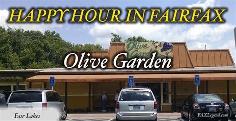 olive garden happy hour fax legend