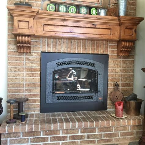 Corbel Fireplace by Vintage Rustic Fireplace Mantel Shelf Corbels Hearth