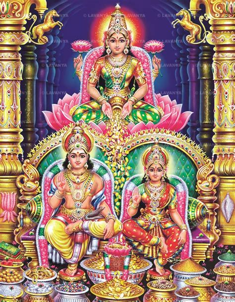 hinducosmos shree lakshmi and lord kubera swamy hinduism in 2019 hindu deities durga