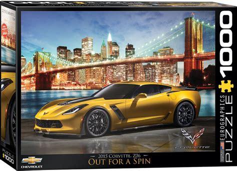 Corvette In Manhattan Jigsaw Puzzles At Eurographics