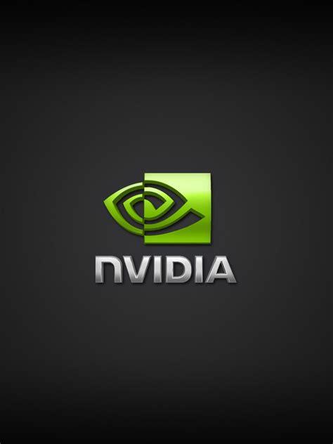 computers nvidia logo wallpaper black ipad iphone hd