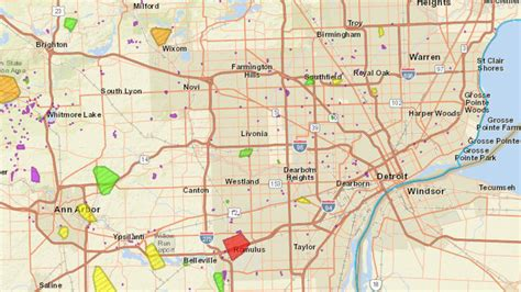 dte energy power outage map  customers  power