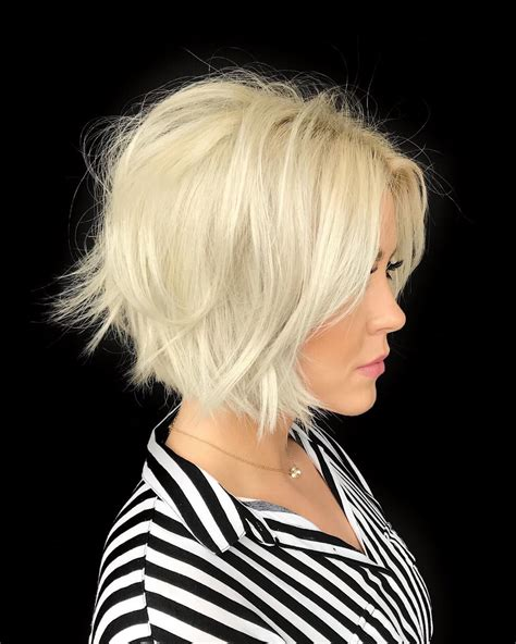 classic short bob haircut  color   short