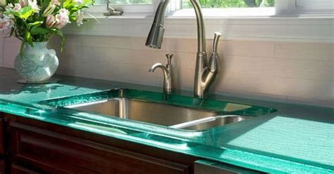 solid frosted painted glass backsplash  glass