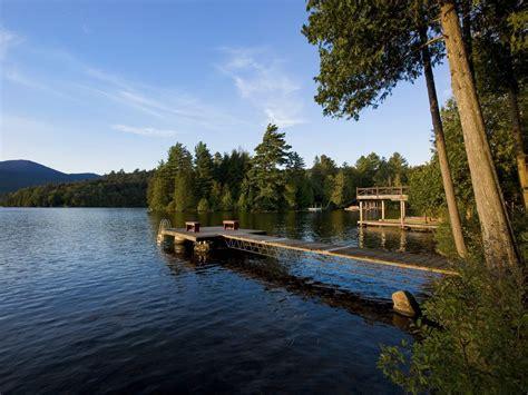 camp sunnycove  large adirondack camp   lake placid lake lake placid