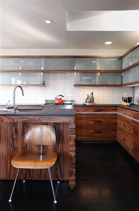 straight stacked white tile backsplash   Kitchen