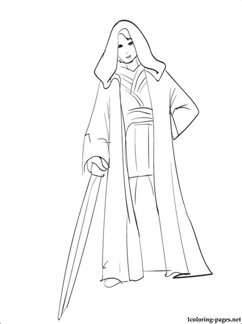star wars anakin skywalker coloring page coloring pages