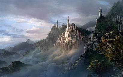Castle Desktop Backgrounds Fantasy Wallpapers Daily